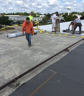 Commercial Amp Industrial Flat Roof Construction Watertown